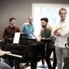 Michele Manzotti racconta a Londra gli Swingle Singers