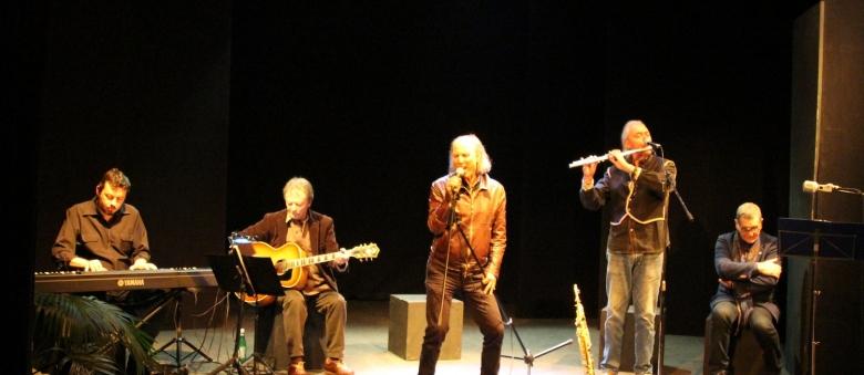 """Luciano Regoli """"Live in Elba"""" Unplugged, Teatro Agorà, Roma, 16 marzo 2015"""
