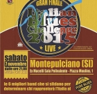 Italian Blues Challenge, Montepulciano (Si), 7 novembre 2015