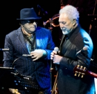 Van Morrison & Tom Jones, Prudential BluesFest, O2 Arena, Londra, 8 novembre 2015