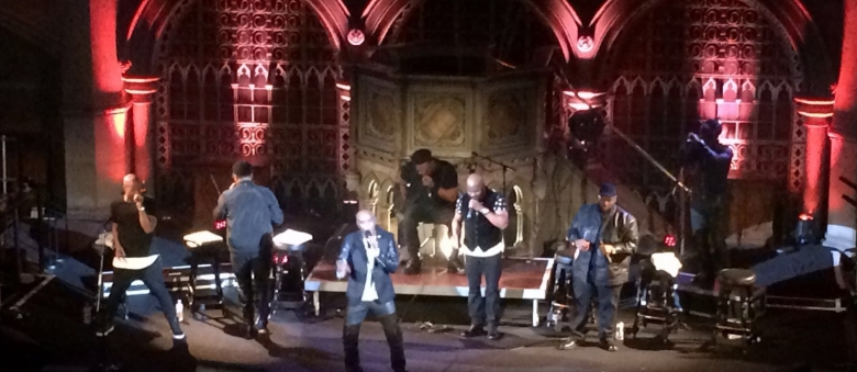 Naturally 7 e Swingles al London a Cappella Festival 2016