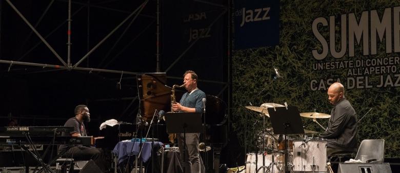 Chris Potter Trio, Casa del Jazz, Roma, 3 luglio 2017