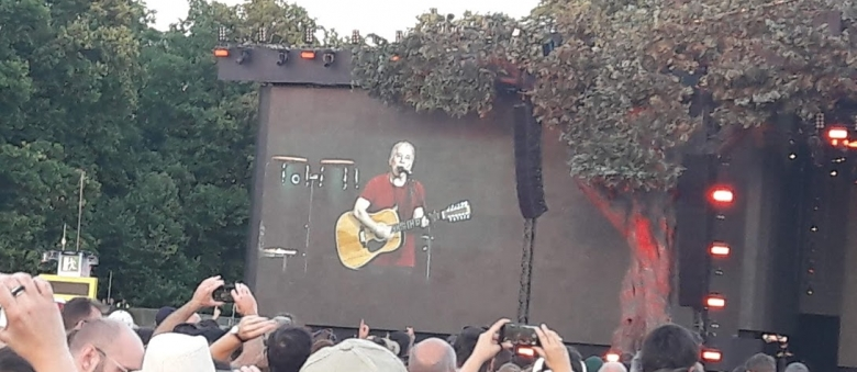 Paul Simon, opening act James Taylor, Hyde Park, Londra, 15 luglio 2018