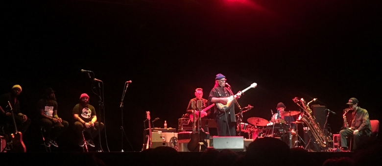 Ry Cooder & The Hamiltones feat. Joachim Cooder, L'Olympia, Parigi, 21 ottobre 2018