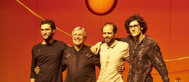 """Caetano Veloso: """"Con i miei figli, una gioia sul palco"""""""