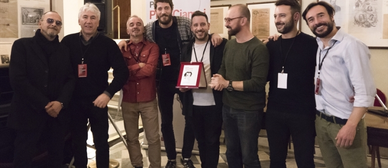 """I Frigo rappresentano il Premio Ciampi al """"Premio dei Premi"""""""