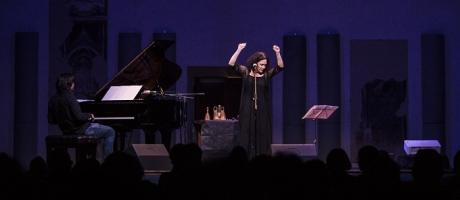 Barbara Casini e Alessandro Lanzoni, Viva Eu, Sala Vanni, Firenze, 16 giugno 2020
