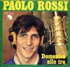Paolo Rossi in sala d'incisione: Domenica alle tre