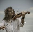 "Francesco ""Fry"" Moneti, il violinista Cosmic Rambler"